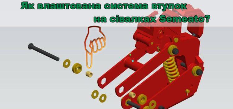 Втулки на сівалках прямого посіву Semeato: як продовжити термін служби деталей.
