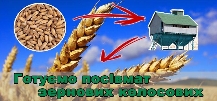 Вимоги Агромиру до посівного матеріалу зернових колосових культур.