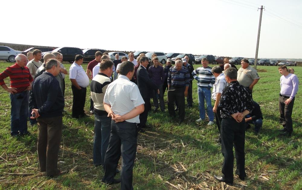 На семінарах можна дізнатись про успішний досвід фермерів, які працюють по технології Ноу-тілл.