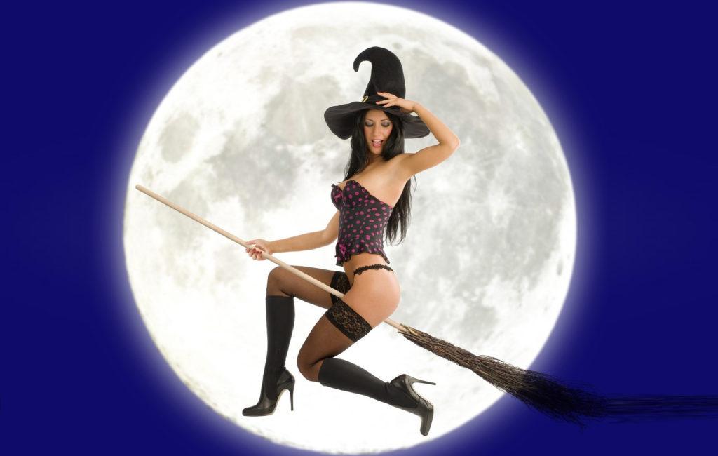 Ведьма летит мешать внедрять ноу-тилл :-))