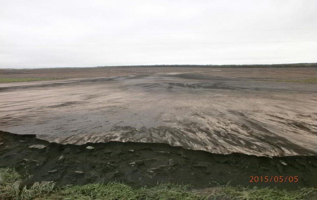 Водная эрозия в Воронежской области